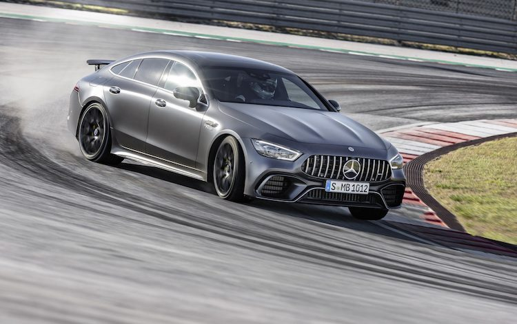 Mercedes-AMG GT 4-Door pakt 'Ringrecord [video]
