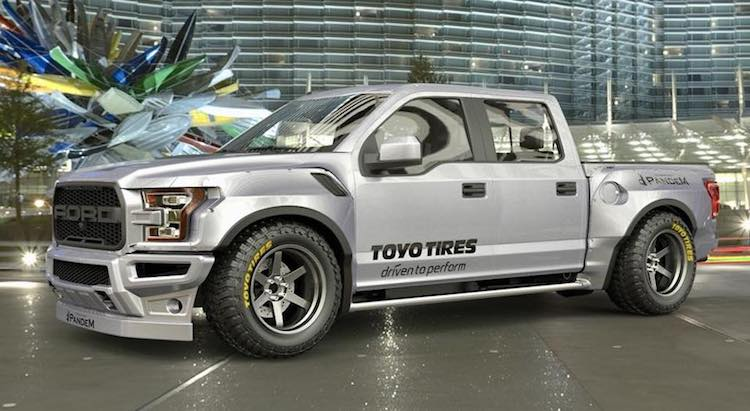 Ford Raptor Rocketbunny: 4x4 Beautyqueen