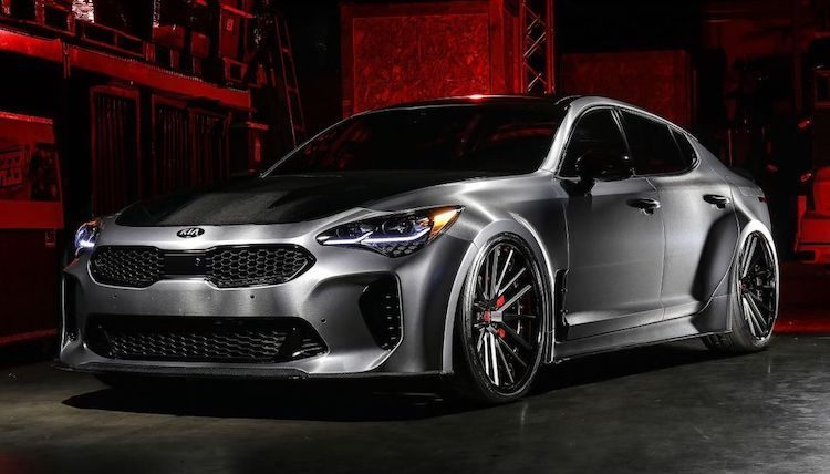 Zo is de Kia Stinger een nog dikkere sedan