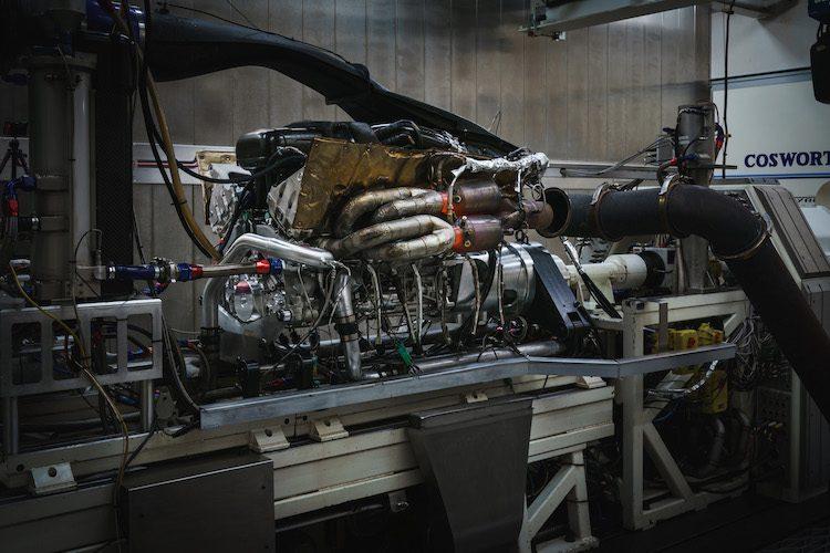 Dit is de 11.100 rpm V12 van de Aston Martin Valkyrie