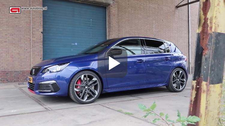 AB video: Peugeot 308 GTi duurtest introductie
