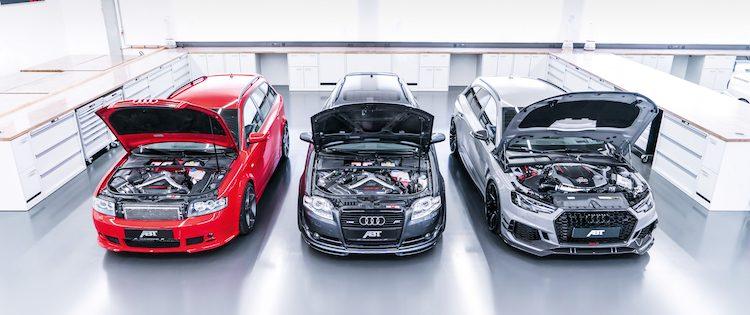 Welk van deze ABT Audi's RS4 neem jij mee naar huis?