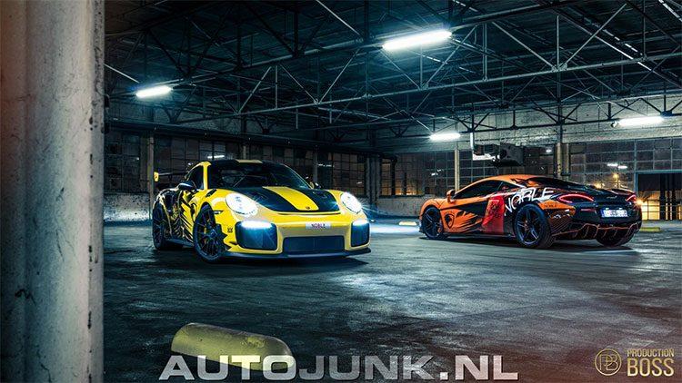 AJFVDM GT2 RS & 570S