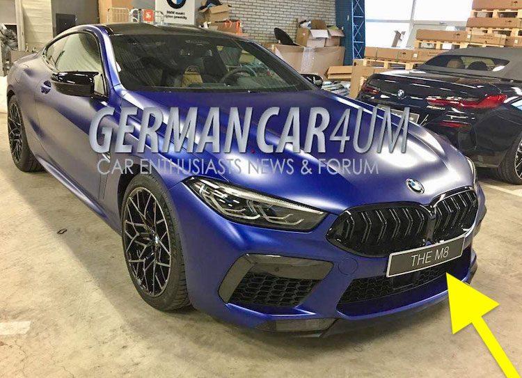 Gelekt: dit is de BMW M8 Competition!