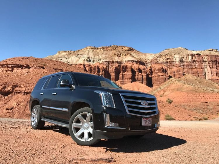 Cadillac Escalade - the rental