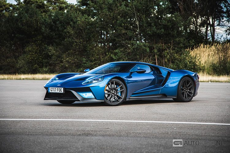 Ford GT 2018 vrijtest en video