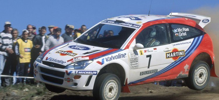 Ford Focus WRC van Colin McRae