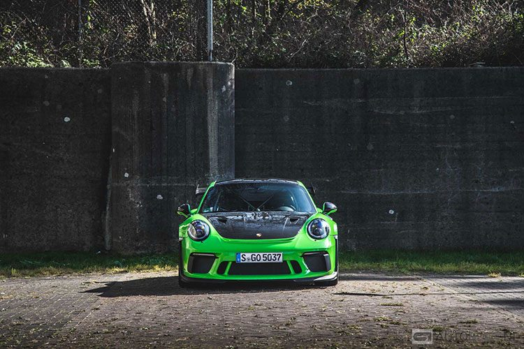 Porsche 911 (991.2) GT3 RS rijtest en video