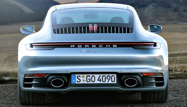 Porsche 911 Carrera 4S (992) '19