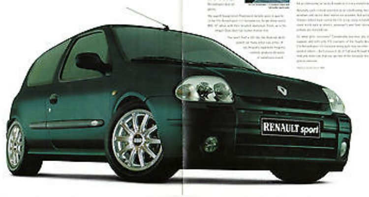 Renault Clio Renault Sport 172 Limited Edition '00