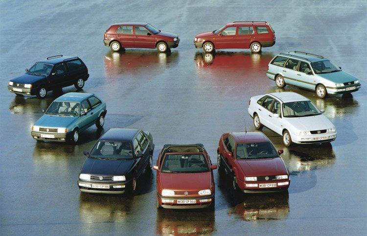 Volkswagen Gamma 1993