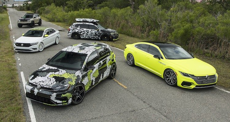Mega-gallery: 5 twijfelachtige VW conceptauto
