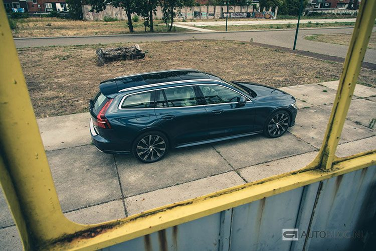 Volvo V60 rijtest en video