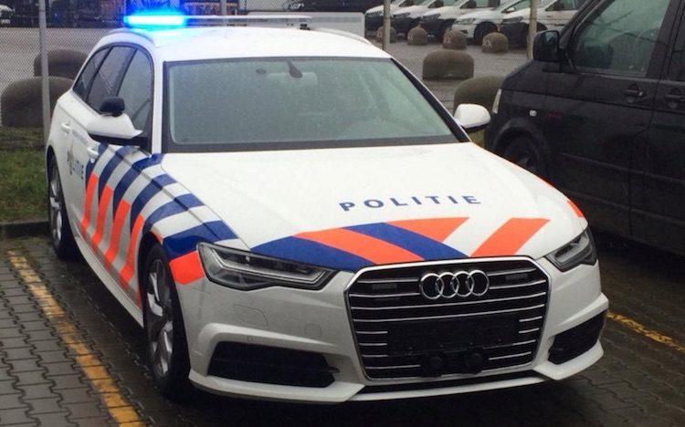 Hier, de nieuwe Audi A6 van de Nederlandse politie