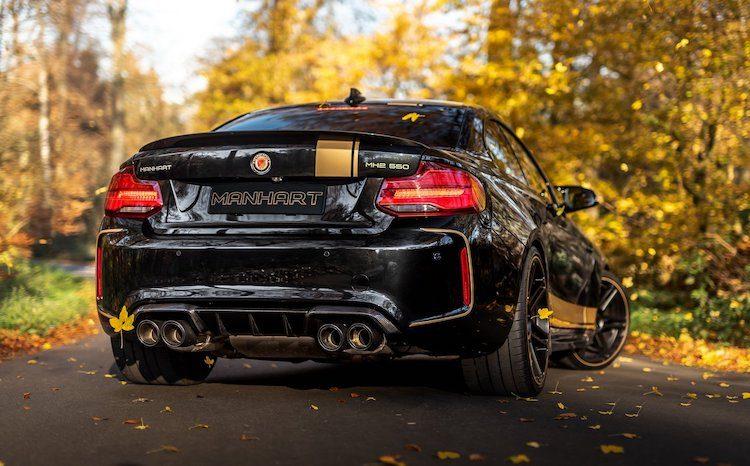 Manhart's M2 Competition is lekker potent met 550 pk