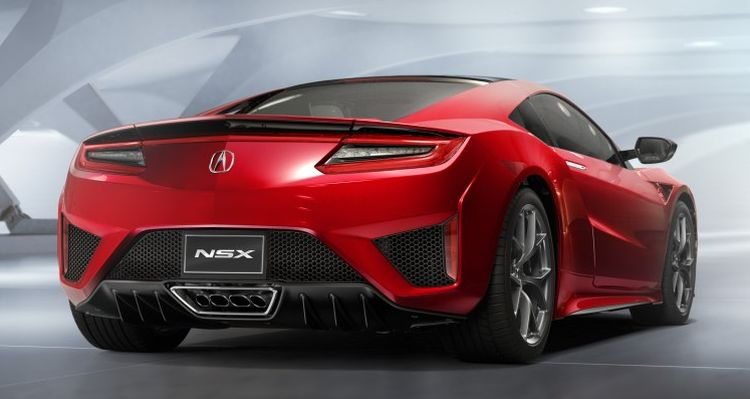 Acura NSX nieuw
