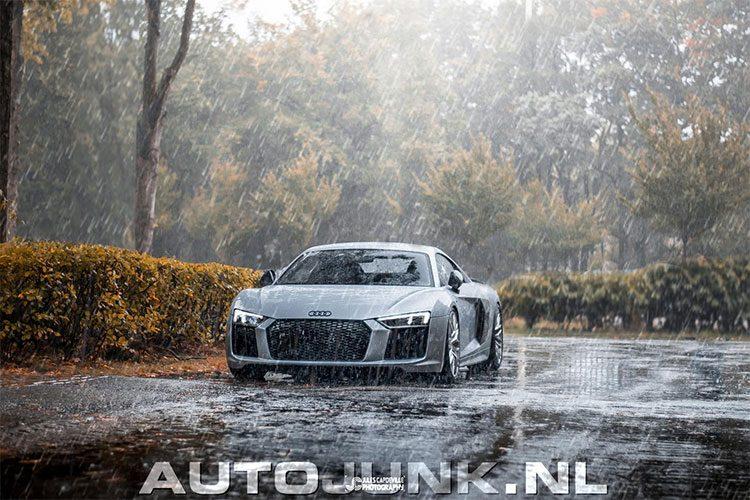 AJFVDM: Audi R8 in de regen