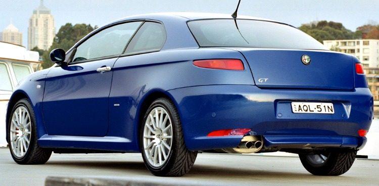 Alfa Romeo GT 3.2 V6 24v Distinctive (937C) '04
