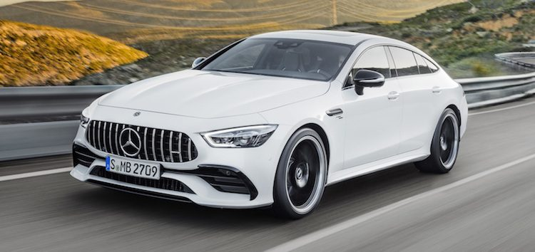 Daar is 'ie: vierdeurs Mercedes-AMG GT Coupé