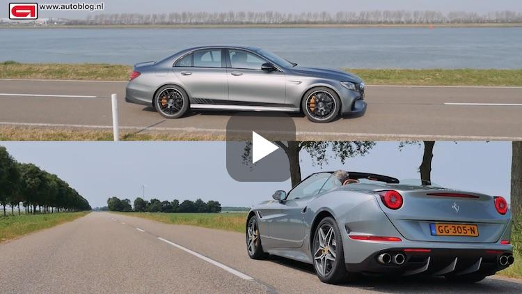 Mercedes-AMG E63 S 4MATIC+ of Ferrari California T?