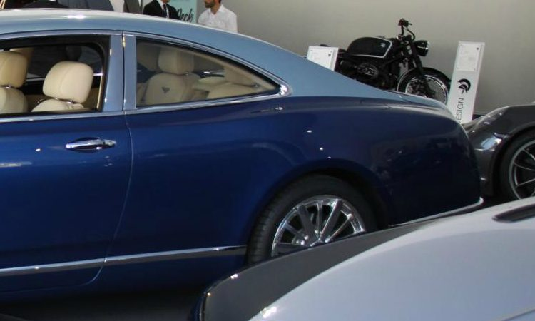 Bentley Mulsanne Coupe Ares Design