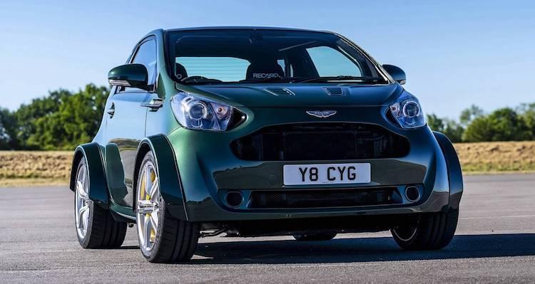 Geen grap: zielloze Cygnet is nu een échte Aston Martin
