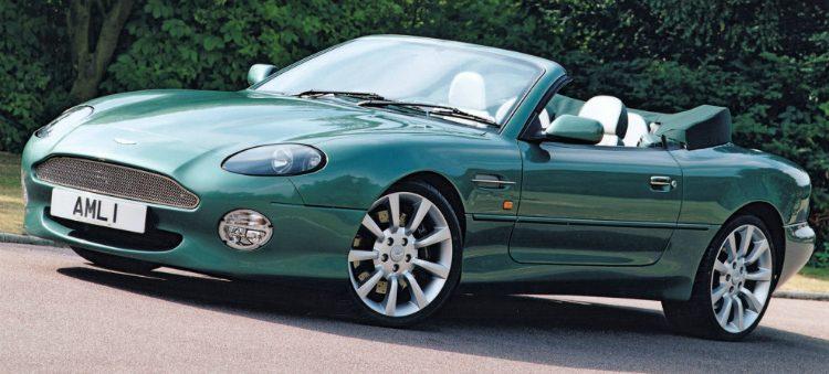 Aston Martin DB7 Vantage Volante '00