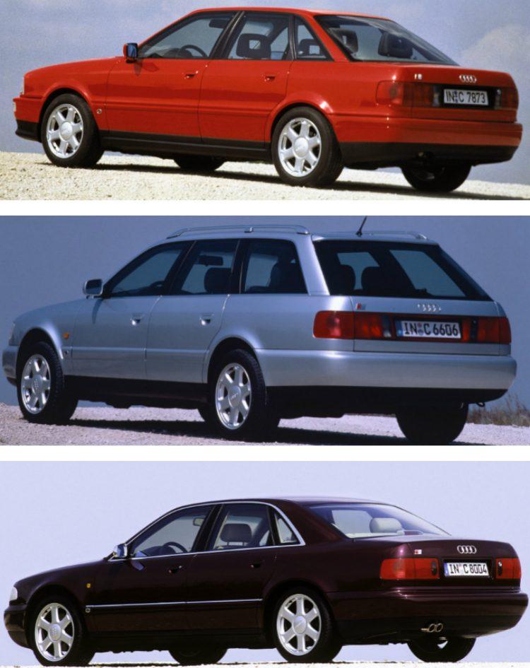 Audi 80 S2 (B4) - S6 (C4) - S8 (D2)