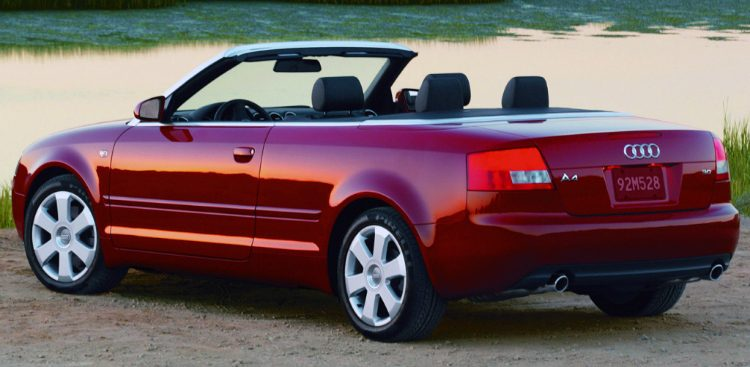 Audi A4 Cabriolet (B6,8H) '01