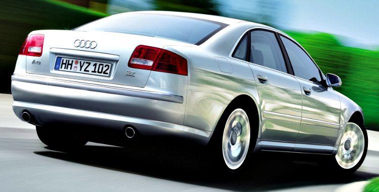 Audi A8 3.7 Quattro (D3) '02