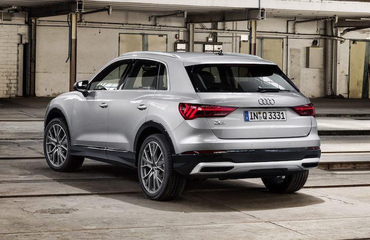 Hier, de prijzen van de nieuwe Audi Q3