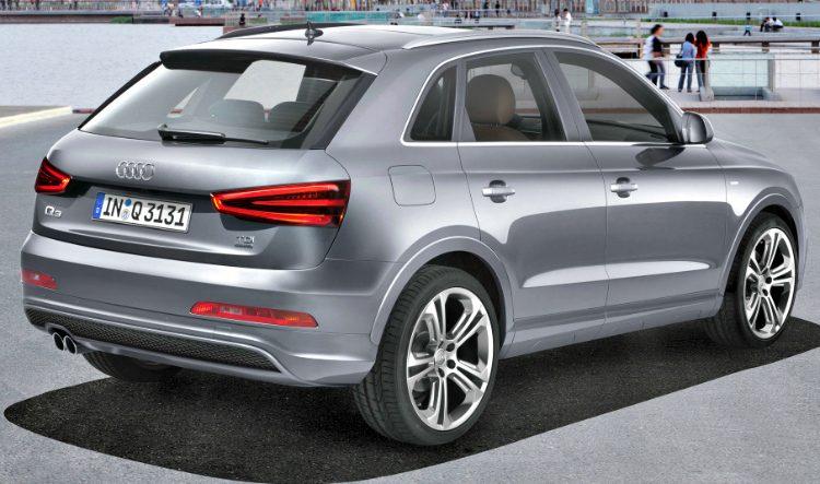 Audi Q3 2.0 TFSI S-Line quattro (8U) '12