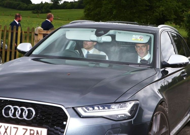 Harry in zijn RS6