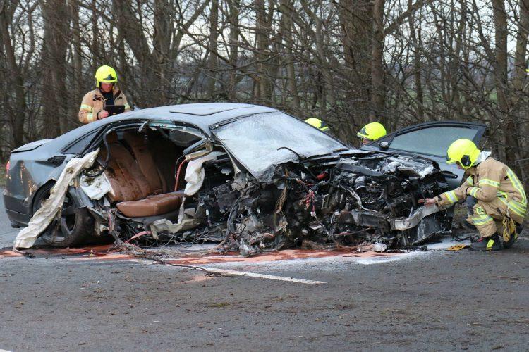 Audi S8 (D4) Crash