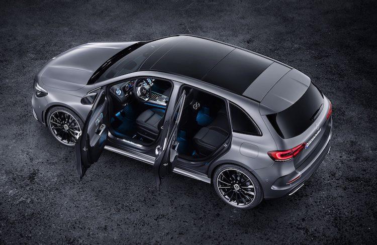 Dit zijn de prijzen van de nieuwe Mercedes B-Klasse