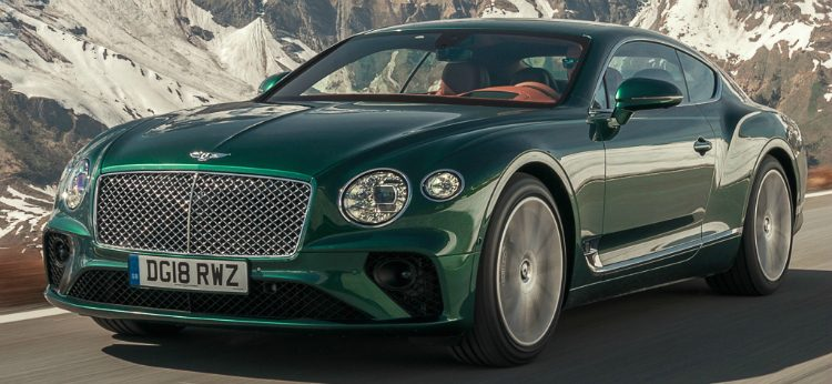 Bentley Continental GT '18