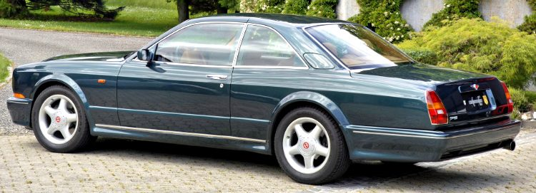 Bentley Continental T by Mulliner Park Ward '96