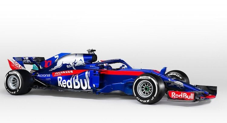 Last but not least: Toro Rosso geeft u de STR13
