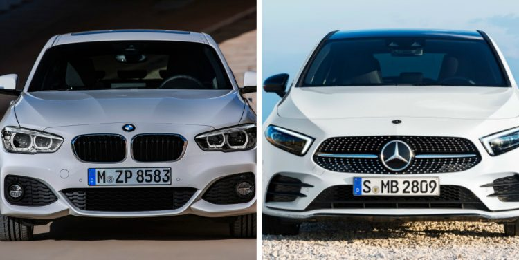 BMW 120i - Mercedes-Benz A200