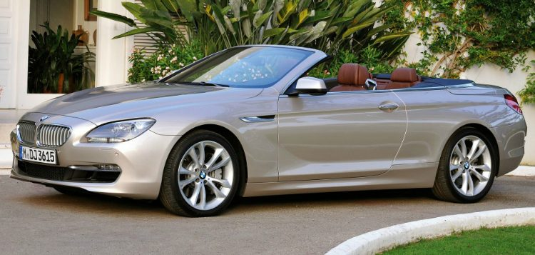 BMW 640i Cabriolet High Executive (F12) '11