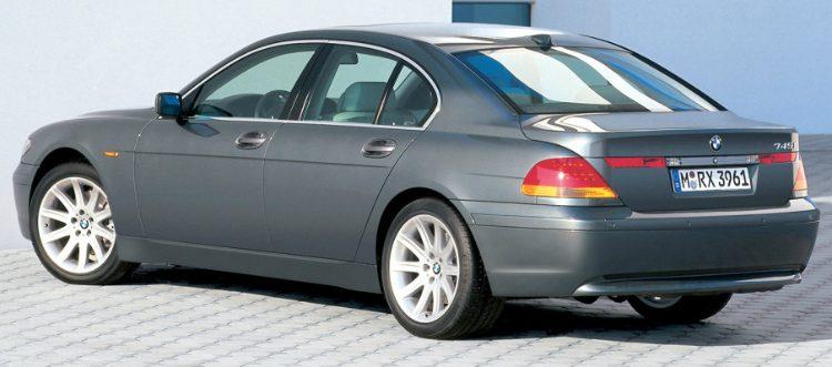 BMW 745i (E65) '01