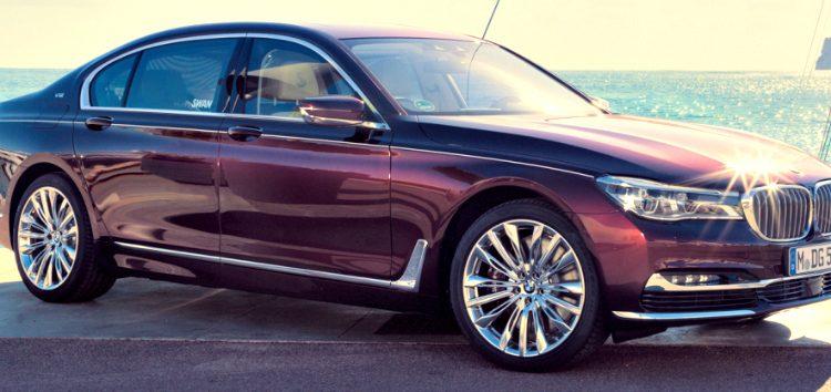BMW 760Li xDrive '17