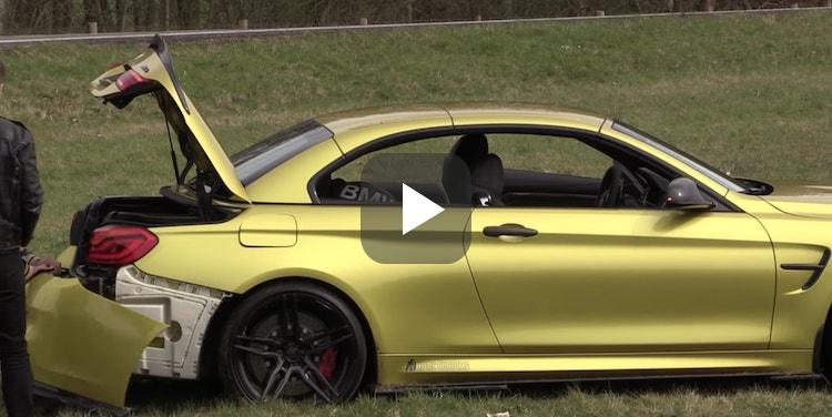 Video: Nederlandse BMW M4 gaat grashappen