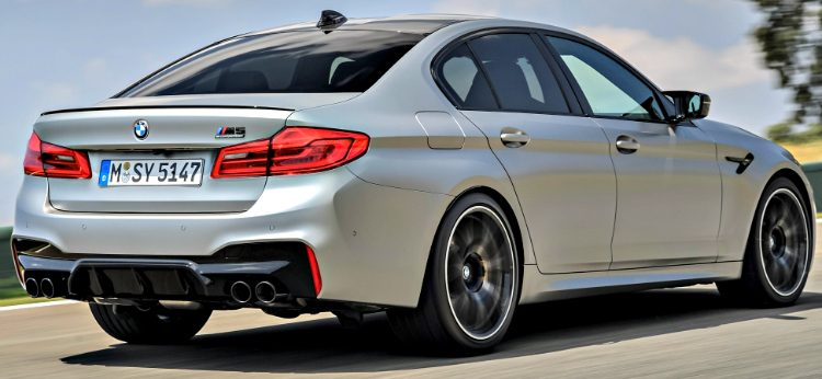 BMW M5 Competition (F90) '18