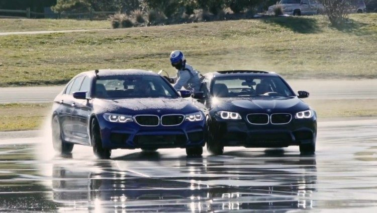 BMW M5 sloopt record langste drift ooit! [video