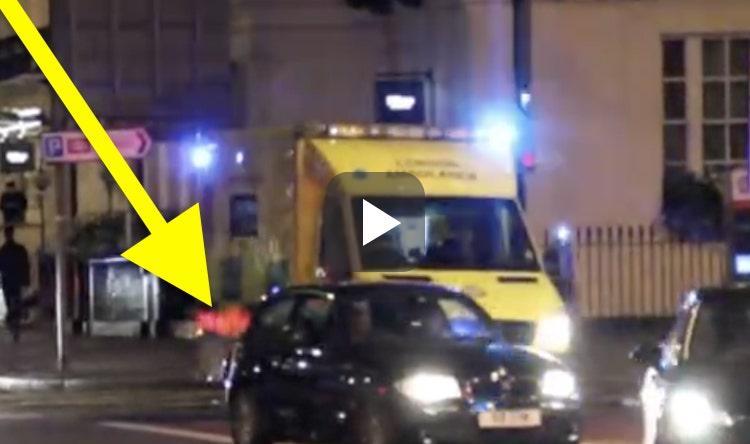 Gespot: BMW heeft geen respect voor ambulance