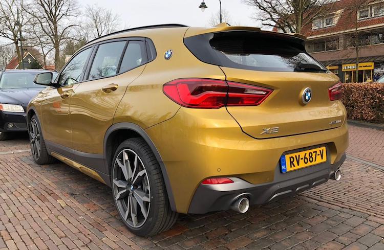 Gespot: eerste BMW X2 op Nederlands kenteken!