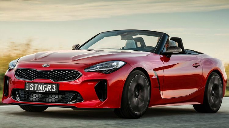 BMW Z4 Roadster Kia Tigernose '18
