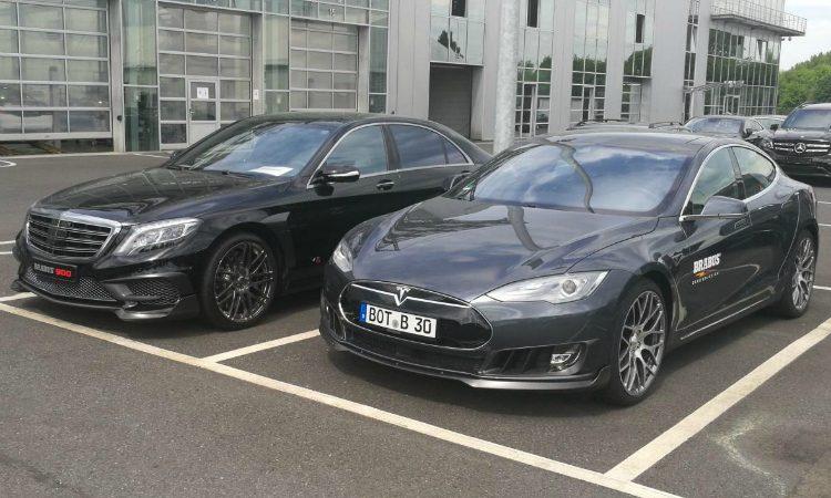 Brabus Mercedes + Tesla