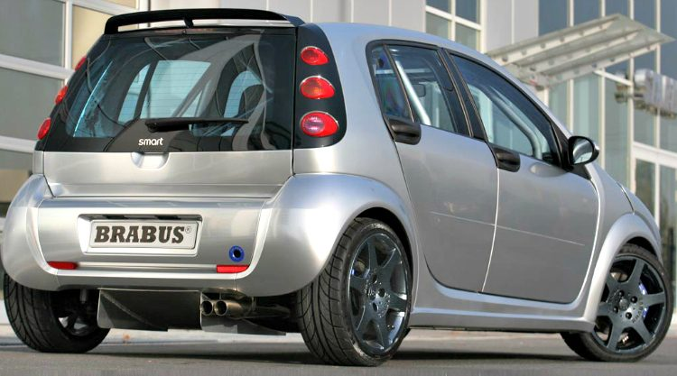 Brabus Smart ForFour '05